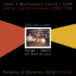 Various Artists:  Said I Had a Vision: Songs and Labels of David Lee (PoB-001)