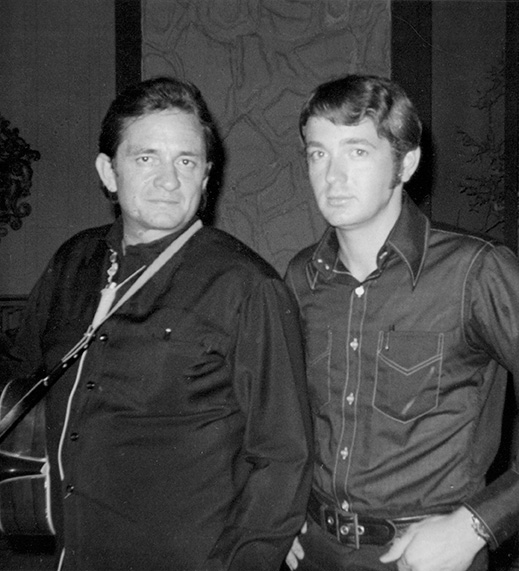 Young Chance with Johnny Cash