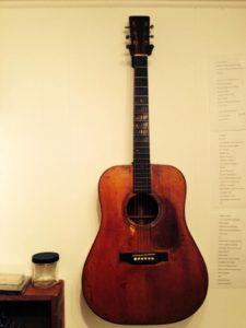 Alice G's guitar